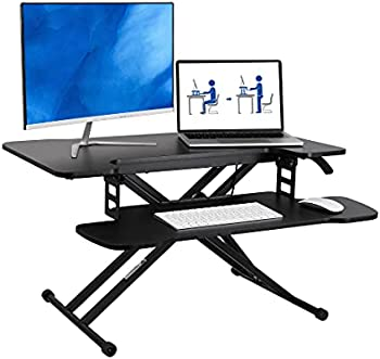 FlexiSpot 31 Inch Height Adjustable Laptop Workstation