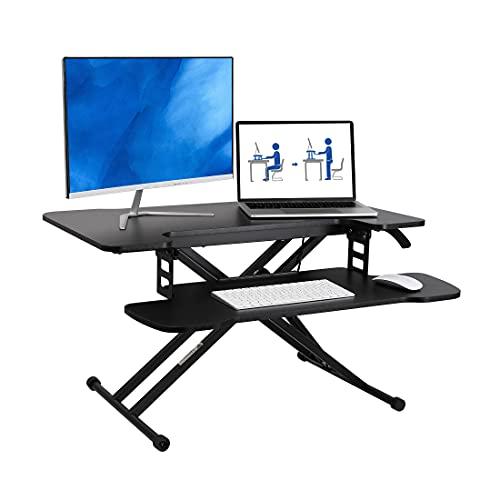 Flexispot Height Adjustable Standing Desk Converter Only $59.99 (Retail $119.99)