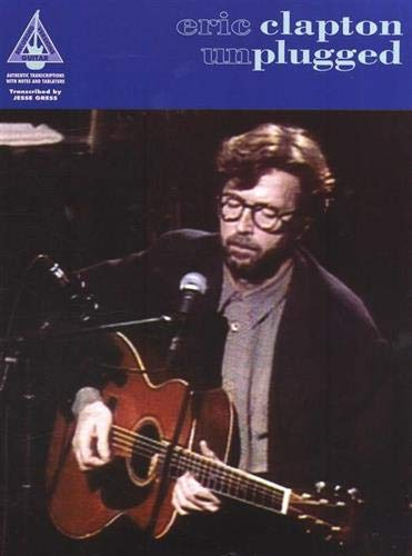 Eric Clapton: Unplugged - Guitar Recorded Versions (Album): Songbook, Grifftabelle für Gitarre
