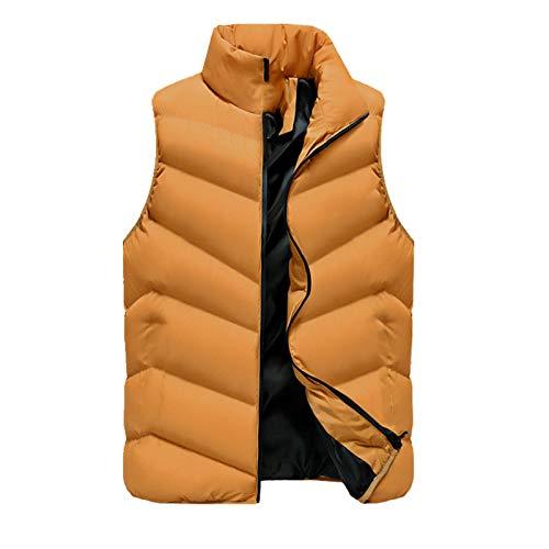 Chaleco de los hombres de invierno abrigo abajo chaleco de algodón chaleco de los hombres grande hombro