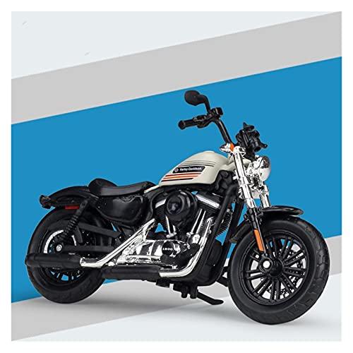 Boutique 1:18 Motocicleta De Aleación Simulación En Miniatura para Harley 2018 Forty-Eight Modelo Especial Colección Adultos Regalo Coche Juguete