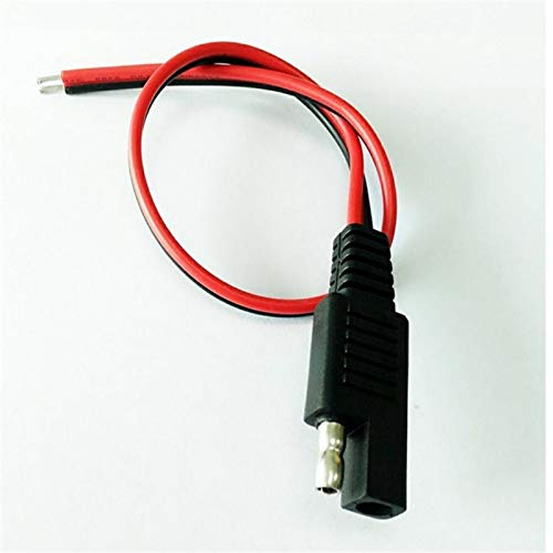 Davitu Electrical Equipments Supplies - New 1Pcs Car Battery Extension Tender SAE DC Power Automotive DIY Connector Cables Solar Cell Connection Transfer