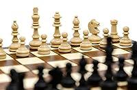 Bellissimo set di scacchi MAGNETICO in legno, gioco di scacchi con figure magnetizzate, gioco classico artigianale ... (medio 28 cm) #4
