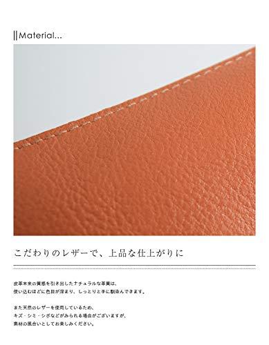 09.onesize20.ヌメ[411466]ILBISONTE(イルビゾンテ)レザージップペンケース(筆箱)