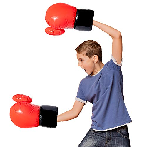 Protocol UpperCuts Inflatable Boxing Gloves | Boxing Gloves for Men and Women | Kids Boxing Gloves| Toy Boxing Gloves | for Cardio, Workouts, and Exercise| Fun for Family and Friends