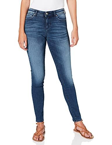 ARMANI EXCHANGE J01-Super Jeans Skinny, Blu (Indigo Denim 1500), 27W / 32L Donna