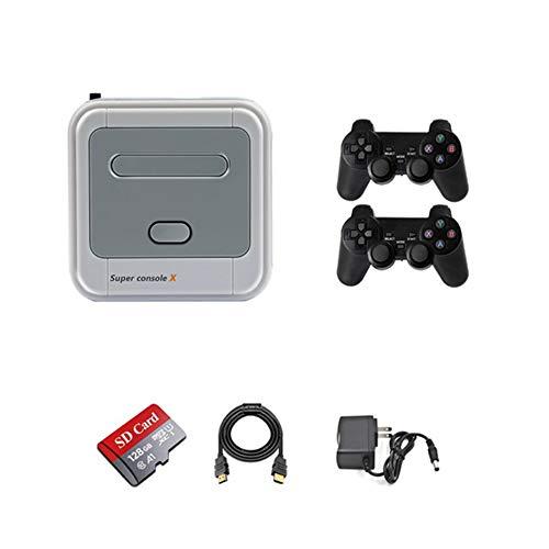 Nueva Consola De Juegos De TV Retro Nostalgic Classic Built-In 40000 Game Box HD 4K Salida HDMI 128G Home Arcade Dobles En Línea para Niños