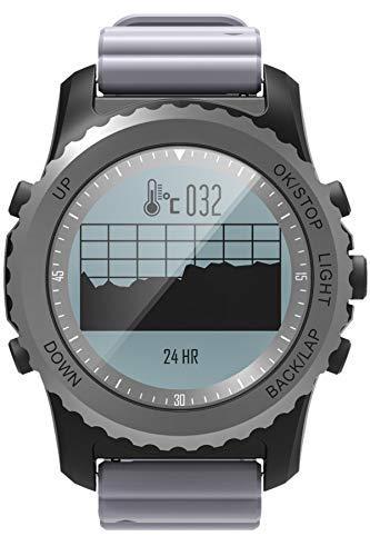 Reloj Inteligente GPS Brújula Fitness Tracker Actividad IP68 Impermeable Podómetro Deportes Norkeling Pulsómetro Monitor