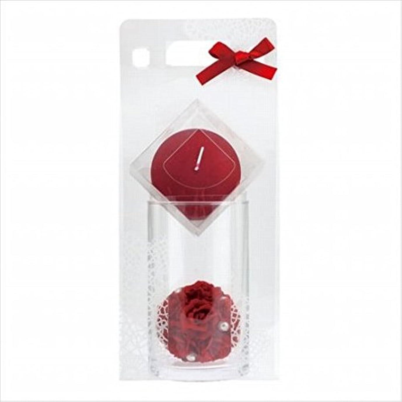 消化スポンサー仕出しますkameyama candle(カメヤマキャンドル) ローズボールセット 「 ワインレッド 」 キャンドル ギフトセット(66031000WR)