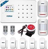 KERUI -W18 WiFi GSM SMS APP Mando a distancia Sistema de alarma de seguridad, detector de apertura, puerta de ventana