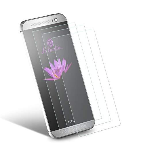 Le Destin HTC ONE M9 Panzerglas[3 Stück] HTC M9 Schutzfolie 9H Festigkeitgrad Gehärtetem Glas Bildschirmschutzfolie für HTC ONE M9(0.33mm,Transparenz-Schutz vor Wasser, Kratzern,Staub & Ölschmutz)