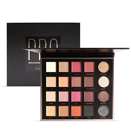 DONGXIUB Metal Shimmer Matte Glitter Primer 20 Colors Eyeshadow Combination Waterproof Makeup Palette Cosmetics
