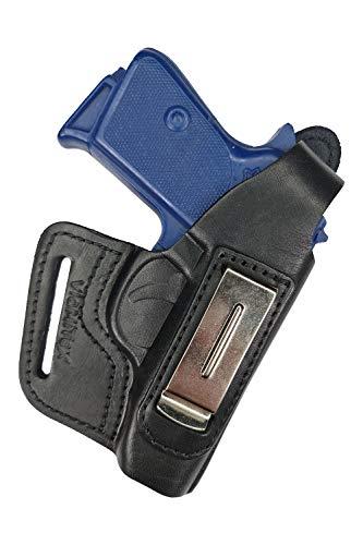 VlaMiTex IWB 5-5 Leder Holster für PPK Walther PPKS Verdeckte/Versteckte Trageweise