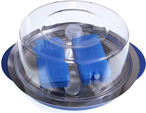 Auslagentablett rund gekühlt 5 teiliges Set