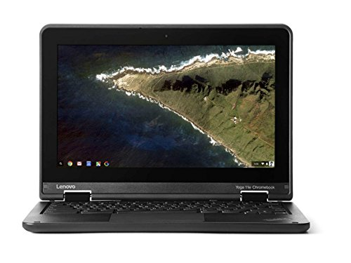 2017 Lenovo Thinkpad Yoga 11.6 Inch Convertible HD IPS Multitouch Chromebook, Intel Quad Core Processor 1.6 GHz, 4GB RAM, 16GB SSD, HDMI, Bluetooth, 802.11ac, USB 3.0, HD Webcam, Chrome OS