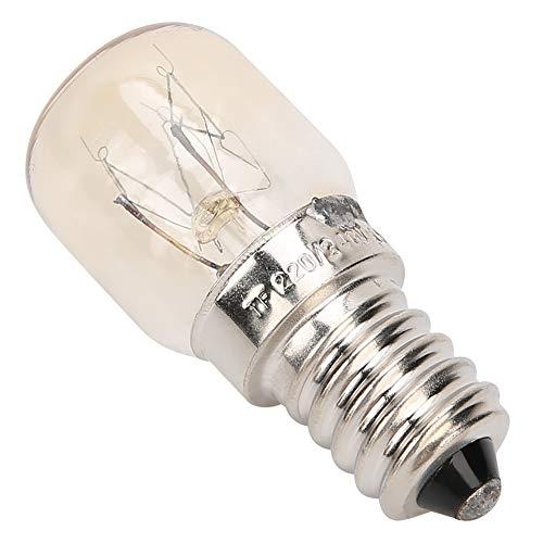 Juego de 10 bombillas para horno de 300 °C, resistentes a altas temperaturas, aptas para microondas