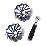 Parche De Neumáticos Kits De Reparación De Neumáticos Plug Parche De Reparación De Neumáticos Y Stitcher Para La Bici Bicicleta De La Motocicleta Vespa Adecuado Para Todo Tipo De Cubiertas De Caucho