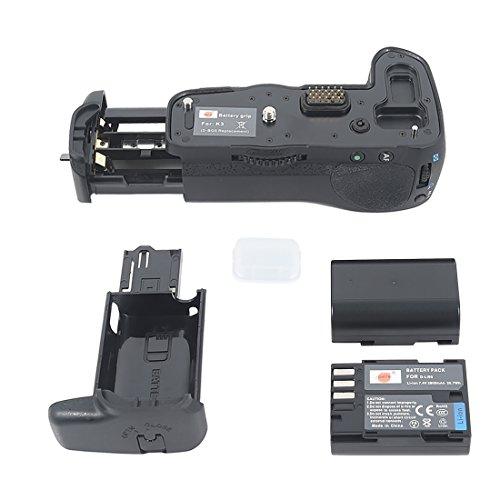 DSTE Multi-Poder Vertical Batería Apretón Titular para Pentax K-3 K3 DSLR Cámara Fotográfica como D-BG5 con 2-pack D-LI90