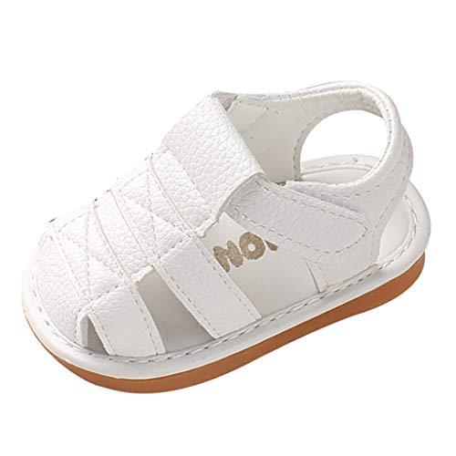 Conquro Sandalias para Niñas Sandalias de Ante con Velcro Niñas Bebé niños Moda Zapatillas niños Chicos niñas Verano Sandalias Casuales Princesa Sandalias Antideslizantes Zapatillas