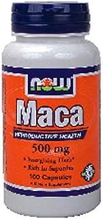Now Foods Maca, 100 caps / 500mg (Multi-Pack)
