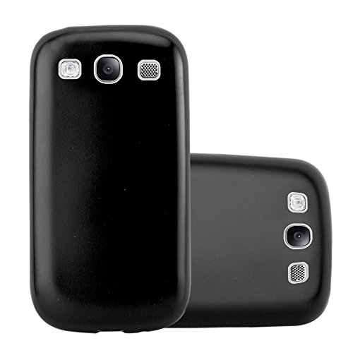 Cadorabo Funda para Samsung Galaxy S3 / S3 Neo en Metallic Negro...