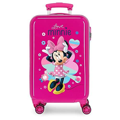 Valise Trolley Cabine rigide Minnie Love