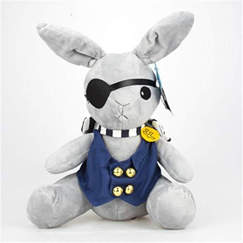 shenlanyu Stofftier 35 cm Hot Anime Kuroshitsuji Black Butler Plush Doll 2020 Rabbit Cosplay Ciel Phantomhive Peluche para Niños Regalos
