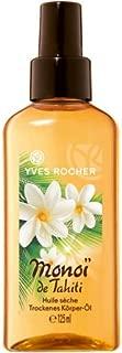 Monoi de Tahiti de Yves Rocher (125 ml), Aceite seco para el cuerpo para una piel cuidada y perfumada