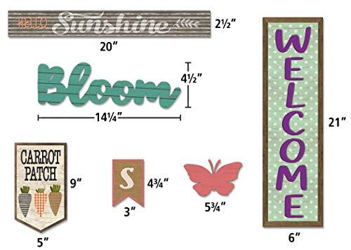 Teacher Created Resources Home Sweet Classroom Spring Mini Bulletin Board Photo #2