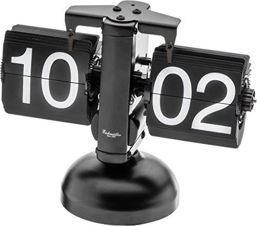 Eichmüller since 1950 Retro Flip Uhr - Tischuhr - schwarz schwarz