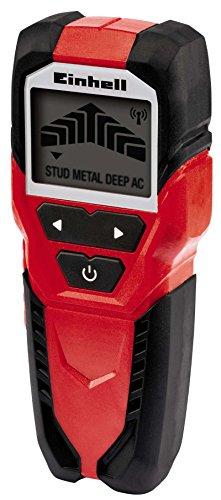 Einhell Digitales Ortungsgerät TC-MD 50 (Erfassungstiefe Holz /Metall/eisenhaltige Metalle/Kupfer/stromführende Leitungen 19/19/50/38/50 mm)