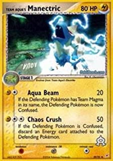 Pokemon - Team Aqua's Manectric (29) - EX Team Magma vs Team Aqua