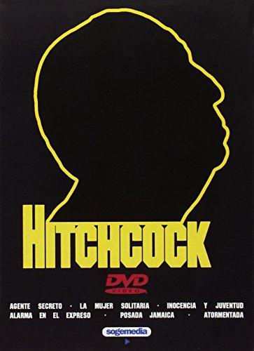 Alfred Hitchcock Vol 2 Agente Secreto + La mujer Solitaria + Inocencia y Juventud + Alarma en el Expreso + Posada Jamaica + Atormentada 6 DVD
