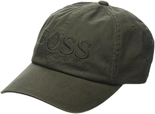BOSS Casual BOSS Herren Panamahut Fritz, Grün (Dark Green 302), One Size