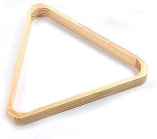 WXS Tri/ángulo de Billar 57.2 mm American Spots /& Stripes Bolas de Piscina y tri/ángulo 2 pc Espesar plastico Blanco Marfil 2 1//4 Pulgadas