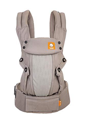 Baby Tula Explore Coast Overcast - Riñonera ajustable para bebés y niños (3,2 - 20,4 kg)