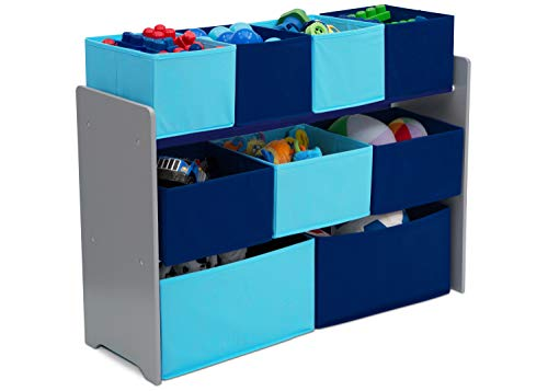 Delta Children Deluxe 9-Bin Toy Storage...