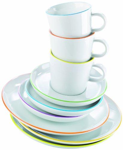 Arzberg Form Cucina Colori Kaffeeset 18-tlg. -Sondersortierung-