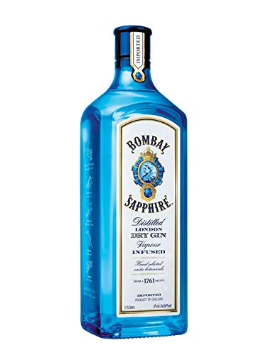 Bombay Sapphire Gin 47% ! Vol. (1 x 1.75 l)