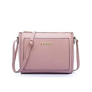 Best Caprese Edna Women's Sling Bag (Dusty Pink) in India 2021