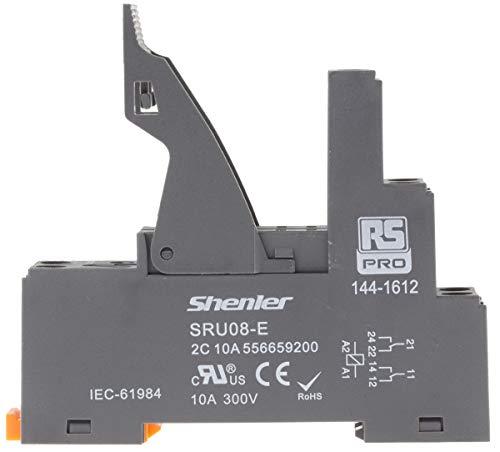 RS PRO Relaissockel zur Verwendung mit RFT-Relais, DIN-Schienen, 300V ac
