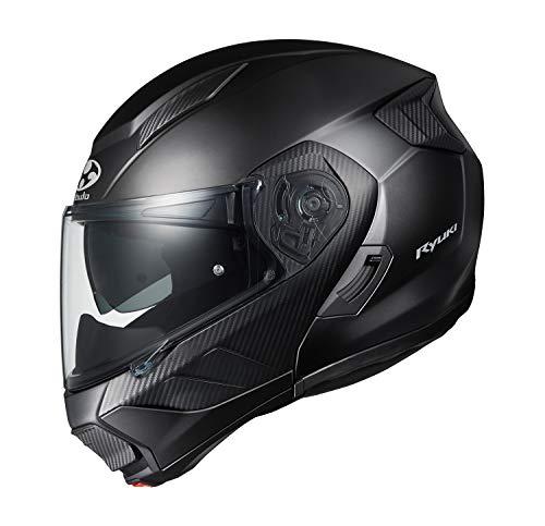OGK KABUTO Motorcycle Helmet System RYUKI Flat Black (Size L)