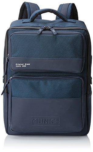 Munich 704004, Mochila para Hombre, Azul (Navy), 10x40x28 cm (W x H...