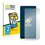 BROTECT 2X Entspiegelungs-Schutzfolie kompatibel mit Xiaomi Mi Mix 2S Bildschirmschutz-Folie Matt, Anti-Reflex, Anti-Fingerprint
