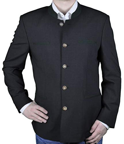 Michaelax-Fashion-Trade Herren Trachten Janker der Marke Weis in der Farbe Anthrazit, Rottach (7026/7367-4/01), Größe:31