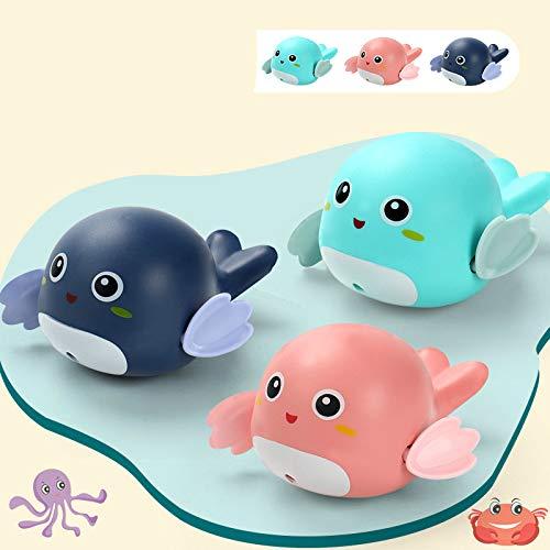 Babybadespielzeug, Kinderbaden, schwimmende Babyschildkröte, Babybadespielzeug für Jungen und Mädchen