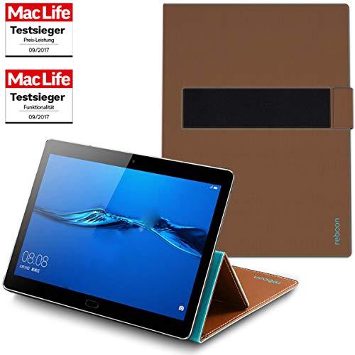 Hülle für Huawei Mediapad M5 Lite Tasche Cover Hülle Bumper | in Braun | Testsieger