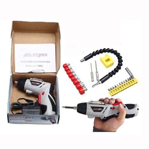 Best Price! Small Electric Screwdriver Rechargeable Mini Small Electric Electric Screw On The Hand D...
