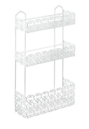 Metaltex Porta Cosmetici Rettangolare Arredo Bagno e Accessori, Metallo