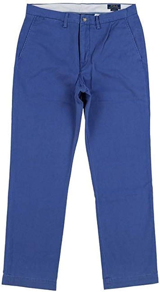 Ralph Lauren Men's Stretch Classic Fit Chino Pants Blue 36W x 32L